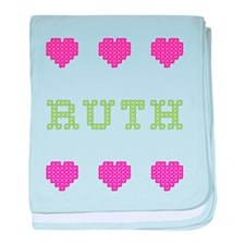 Ruth baby blanket