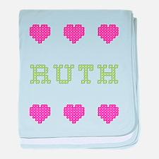 Ruth baby blanket