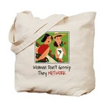 Women Networking Tote Bag