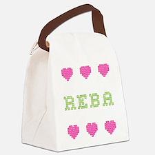 Reba Canvas Lunch Bag