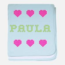 Paula baby blanket