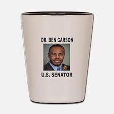 BEN CARSON FOR SENATE Shot Glass