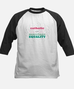 Catholic for Equality Baseball Jersey