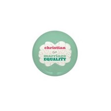 Christian for Equality Mini Button (10 pack)