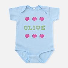 Olive Body Suit