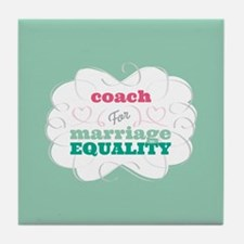 Co-Ed for Equality Tile Coaster