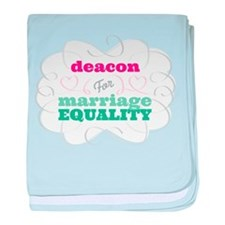 Deacon for Equality baby blanket