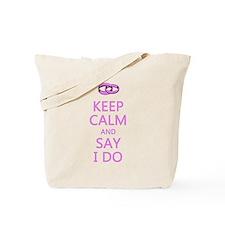 KEEP CALM WEDDING Tote Bag