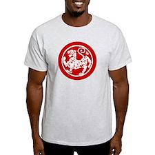 MA Shotokan tiger - stitch red T-Shirt