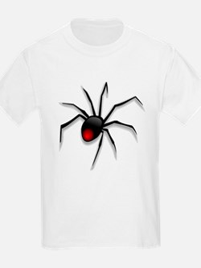 Black Widow Spider Kids T-Shirt