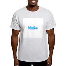 Bimbo Blossom Ash Grey T-Shirt