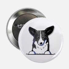 B/W Pocket Corgi Button