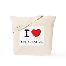 I love safety inspectors Tote Bag