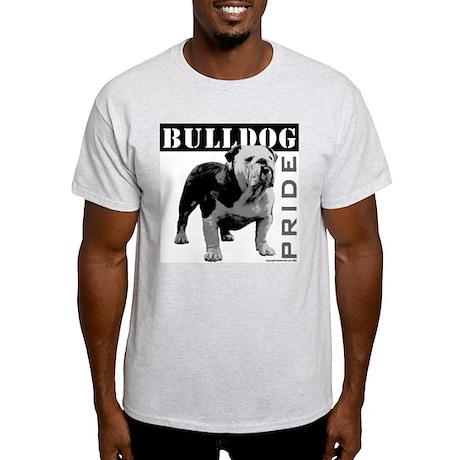 Bulldog Pride Ash Grey T-Shirt