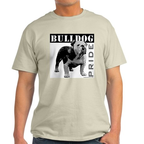 Bulldog Pride Ash Grey T-Shirt