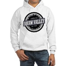 Squaw Valley Ski Resort California Black Hoodie