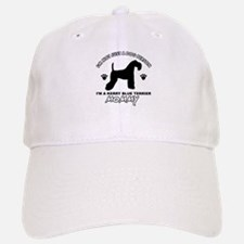 Kerry Blue Terrier dog breed designs Cap