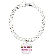Birthday Girl Pink Birthday Train Bracelet