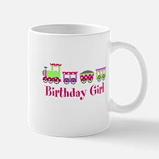Birthday Girl Pink Birthday Train Mug