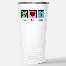 Peace Love Meerkats Travel Mug