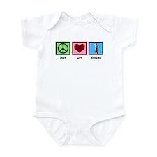 Peace Love Meerkats Infant Bodysuit