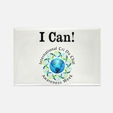 I Can! Rectangle Magnet