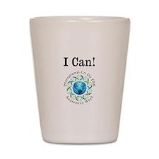 I Can! Shot Glass