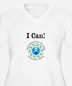 I Can! Plus Size T-Shirt