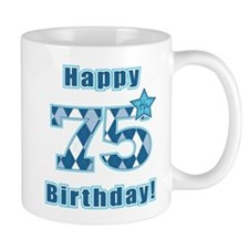 Happy 75th Birthday! Small Mug