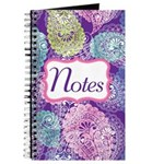 Paisley Pastel Notes Journal