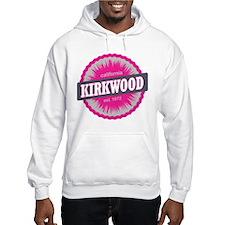 Kirkwood Mountain Ski Resort California Pink Hoodi
