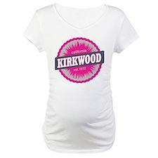 Kirkwood Mountain Ski Resort California Pink Mater