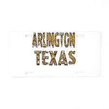 Arlington Texas 1 Aluminum License Plate