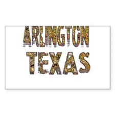 Arlington Texas 1 Decal