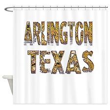 Arlington Texas 1 Shower Curtain
