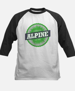 Alpine Meadows Ski Resort California Lime Green Ba