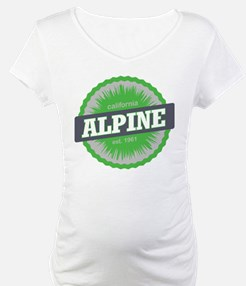 Alpine Meadows Ski Resort California Lime Green Ma