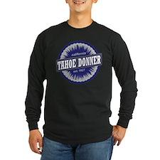 Tahoe Donner Downhill Ski Resort California Navy B