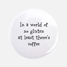 "World of no gluten 3.5"" Button"