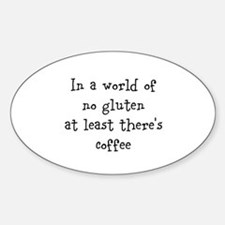 World of no gluten Decal