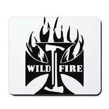 WildFire Iron Cross Pulaski Mousepad