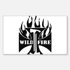 WildFire Iron Cross Pulaski Decal
