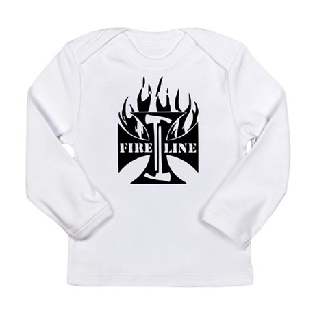 Fire Line Pulaski Iron Cross Long Sleeve T-Shirt