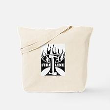 Fire Line Pulaski Iron Cross Tote Bag