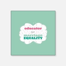 Educator for Equality Sticker