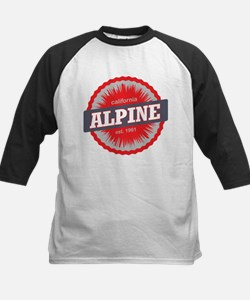 Alpine Meadows Ski Resort California Red Baseball