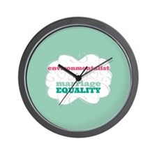Environmentalist for Equality Wall Clock