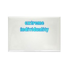 extreme individuality Rectangle Magnet