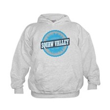 Squaw Valley Ski Resort California Sky Blue Hoodie
