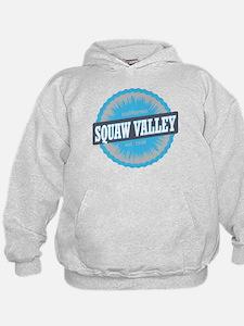 Squaw Valley Ski Resort California Sky Blue Hoodie